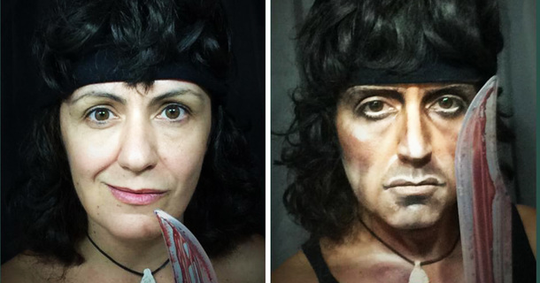 This Woman Has Sick Makeup Skills That Can Turn Her Into Any Male Character She Wants
